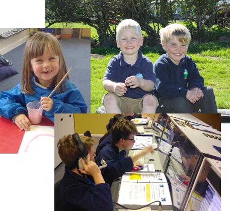 Children at Clunbury School